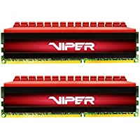 Patriot Viper 4 8GB (2 x 4GB) PC4-19200 2400MHz DDR4 288-Pin DIMM Desktop Memory