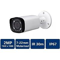 Dahua HAC-HFW2221R-Z-0722 2MP WDR HDCVI IR Bullet Camera, 7-22mm Motorized Lens (NO LOGO Original Housing Local Support)
