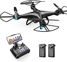 Holy Stone HS110D FPV RC Drone with 1080P HD Camera Live Video 120° Wide-Angle WiFi Quadcopter with Altitude Hold...