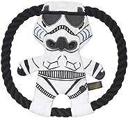 STAR WARS Para animais de estimação de pelúcia Storm Trooper Corda Frisbee Dog Toy | Brinquedos para cães