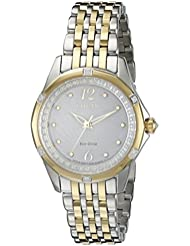 Citizen Womens EM0374-50A Citizen Signature Versaille Analog Display Japanese Quartz Two Tone Watch
