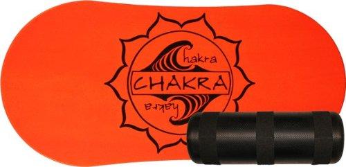 Chakra Board Balance Board Chakra with Roller - Neon Orange feccb9