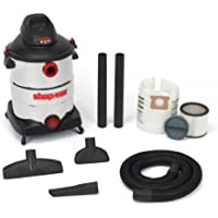 Shop-Vac 5986300 16-Gallon 6.5 Peak HP Stainless Steel Wet Dry Vacuum