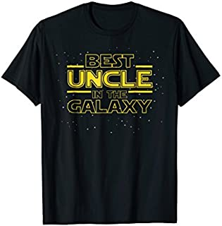 Birthday Gift Best Uncle in the Galaxy, Uncle  Gift, Uncle Birthday Short and Long Sleeve Shirt/Hoodie