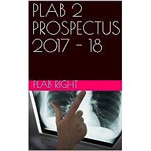 PLAB 2 PROSPECTUS 2017 - 18