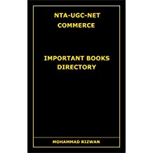 NTA-UGC-NET COMMERCE: Important Books Directory