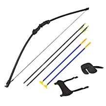 IRQ Archery Youth Bow and Arrow Set Take Down Bows for Kids Children Junior Hunting Target Practice Right hand
