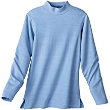 Carol Wright Gifts Mock Neck Top