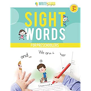 Write & Learn Pages: Sight Words For Preschoolers