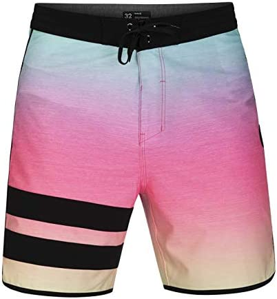 "Hurley Men's Phantom Block Party Keep Cool 18"" Inch Swim Short Boardshort"