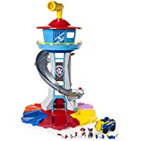 PAW Patrol My Size Lookout Tower with Exclusive Vehicle,...