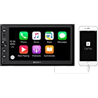 Sony XAV-AX100 6.4 Car Play/Android Auto Media Receiver with Bluetooth