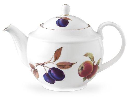 Royal Worcester Evesham Gold Porcelain Teapot and Cover