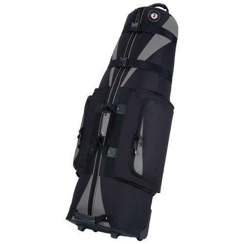 Golf Travel Bags Unisex Caravan 3.0 Bag, Black with Slate Trim