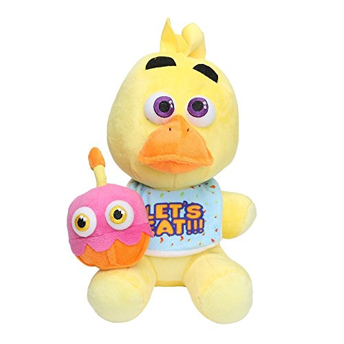 [Five Nights At Freddy's 4 FNAF CHICA Plush Toy for Boys and Girls] (Five Nights At Freddys Costume Mangle)