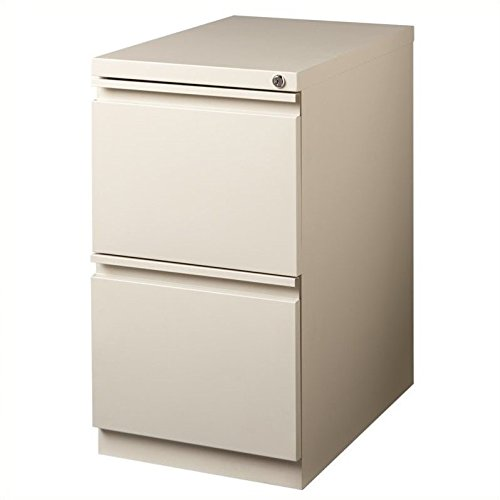 Hirsh Industries LLC 20'' Deep 2 Drawer Mobile Pedestal File in Putty by Hirsh Industries