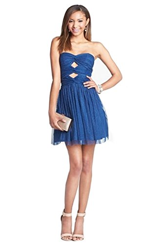 UPC 887873197705, Hailey Logan Formal Party Cutout Glitter Fit & Flare Dress (Juniors). Size 11/12
