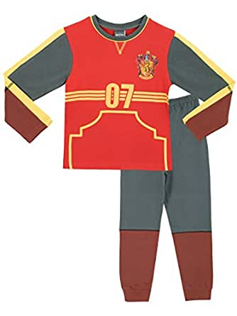 Harry Potter Boys' Harry Potter Pajamas Quidditch Outfit Size 7