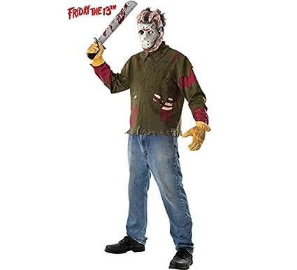 Viernes 13 Disfraz de Jason Hombre: Amazon.es: Juguetes y juegos