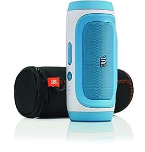 JBL Charge Portable Wireless Bluetooth Speaker (Blue)