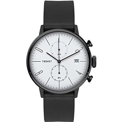 Tsovet-JPT-CC38-Analog-Quartz-BlackBlack-w-WhiteBlack-Watch