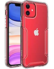 ZUSLAB Armor Shield Case Compatible with Apple iPhone 11 Anti Slip & Anti Scratch Rubber Bumper with Protective Hard Back Cover