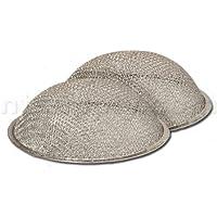 American Metal Aluminum Round Dome Range Hood Filter -10 1/2 Round x 3 1/4 Rise