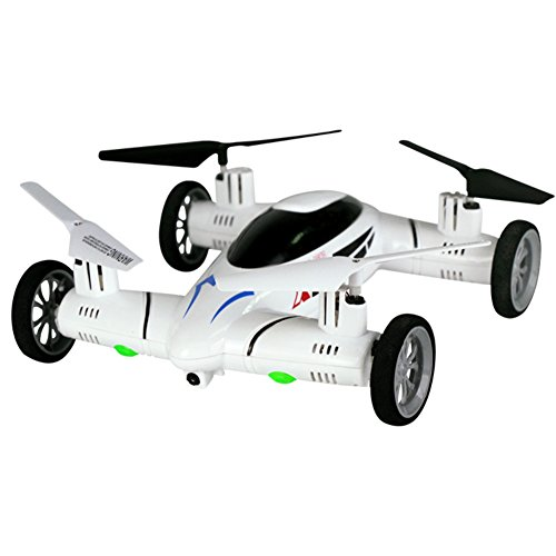 Wenasi Land and Air Amphibious Remote Control Car RC Drone with (Rc Stunt Planes)