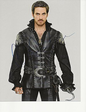 Gorgeous Colin Odonoghue Signed 8x10 In Person Once Upon A Time