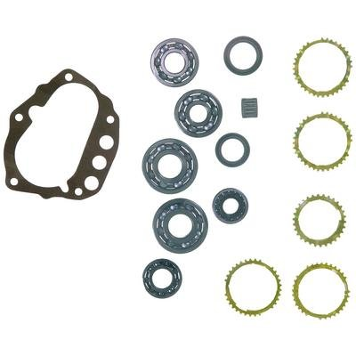 NISSAN FS5W71C 5-SPEED MANUAL TRANSMISSION REBUILD KIT WITH SYNCHRO RINGS FITS '84-'86 720 PICKUP