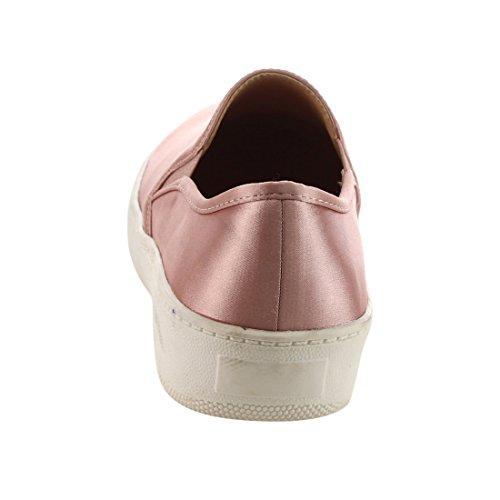 Betani Ei31 Kvinna Halka På Dual Sidan Goring Låg Topp Mode Sneakers Rosa