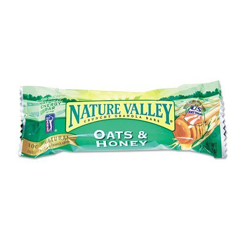 General Mills - Nature Valley Granola Bars, Oats'n Honey Cereal, 1.5oz Bar, 18 Bars/Box - Sold As 1 Box - Nutritional. by General Mills ()