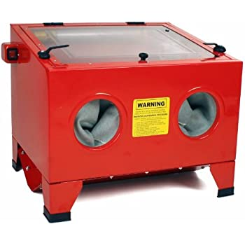 Dragway Tools Model 25 Bench Top Sandblasting Sandblast Cabinet ...