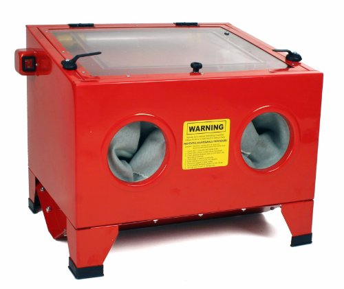 Dragway Tools Model 25 Bench Top Sandblasting Sandblast Cabinet Gun and Nozzles by Dragway Tools