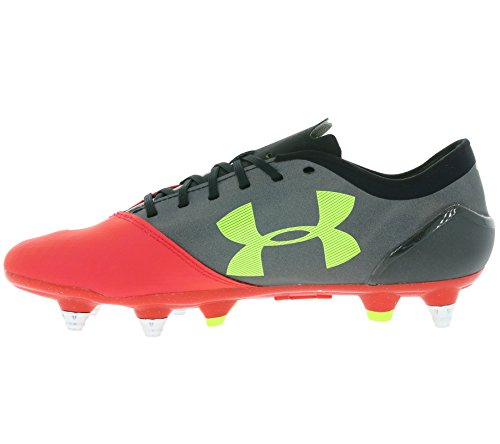 Under Armour Mens Ua Spotlight Hybrid Raket Röd / High-vis Gul / Svart