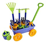 AMPERSAND SHOPS Kids Garden Wagon & Tools Play Set