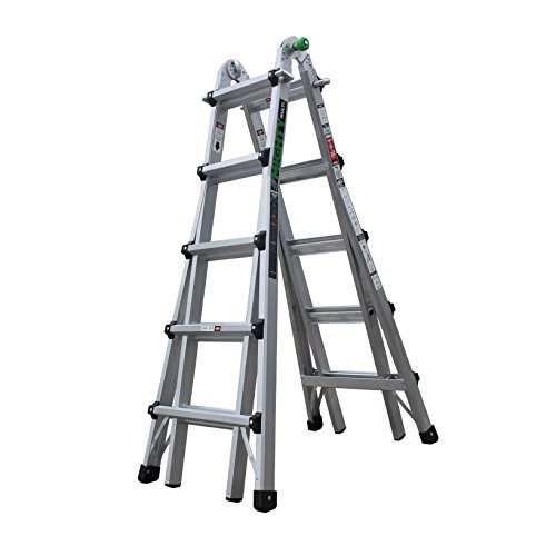 22' Aluminum Base (Mighty Multi AMT-22 22' Multi Task Ladder)