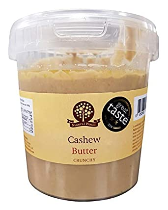 Nutural World Pure Beurre De Noix De Cajou 100 Avec Morceaux