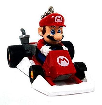 Amazon.com: Super Mario Kart DS micro Llaveros Mario en ...