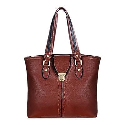 YOLANDO Vegan Leather Purses And Handbags For Women Large Tote Bag Shoulder Hobo Style