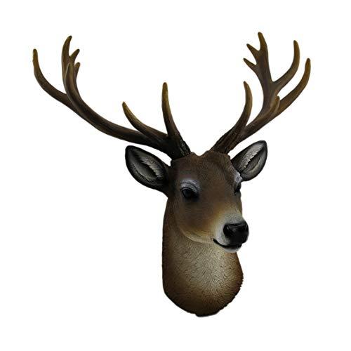 wall decor resin deer - 6