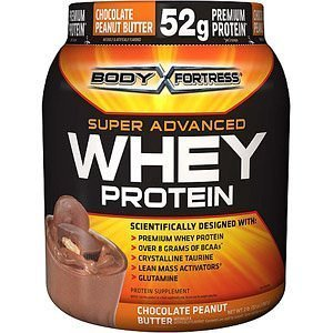 Body Fortress Super Advanced Whey Protein 2lb (Chocolate Peanut Butter
