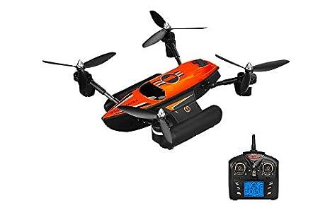 Drone AeroAnfibio 3 en 1 - WLToys Q353: Amazon.es: Juguetes y juegos