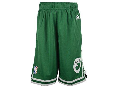 NBA adidas Boston Celtics Toddler Revolution 30 Replica Road Shorts (3T)