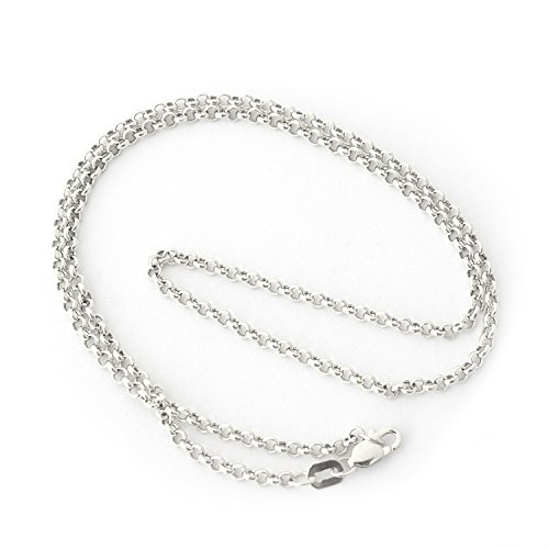 10k-Yellow-or-White-Gold-24mm-Round-Rolo-Anklet-10