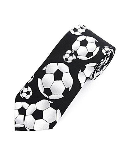 Parquet Soccer Novelty Tie