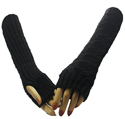 Fashion Dimensions Grey Wonderland Arm Warmer Gloves