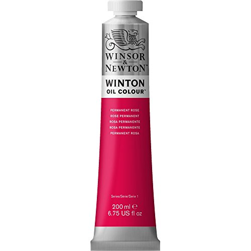 Winsor & Newton Winton Oil Paint Tube, 200ml, Permanent (200 Ml Rose)