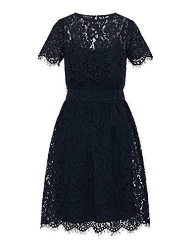 midnightblue Midnightblue Fashion Mujer Vestido dusty Para Apart Pink Azul print Midnightblue qF5zOxnCw