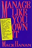 img - for Manage Like You Own It book / textbook / text book